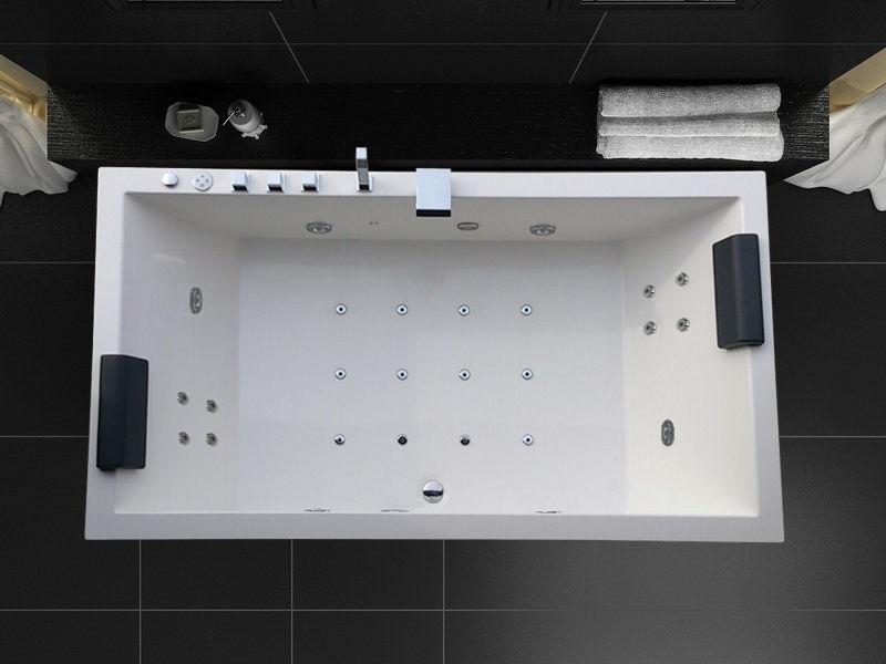 Dimension Lavabo : Baignoire d hydromassage m
