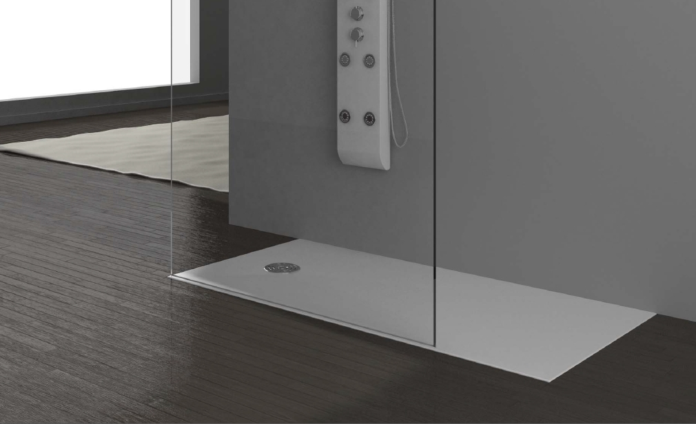 receveur de douche solid surface ac400. Black Bedroom Furniture Sets. Home Design Ideas
